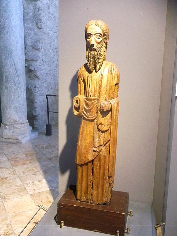 Wooden St Andrew 12th century