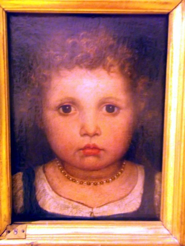 portrait of 15th century child