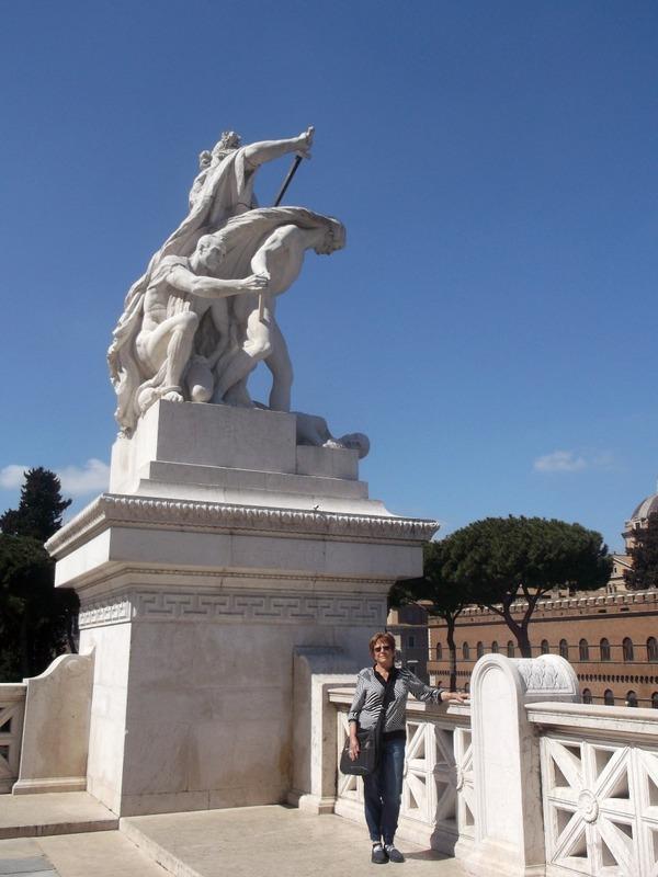 Huge Statues everywhere