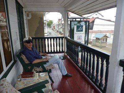 Alberga's balcony