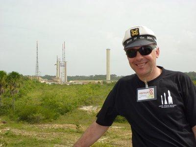 Ariane 5 launch pad