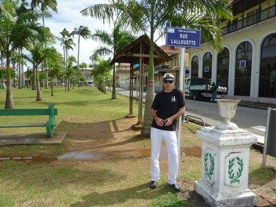 Cayenne's main plaza