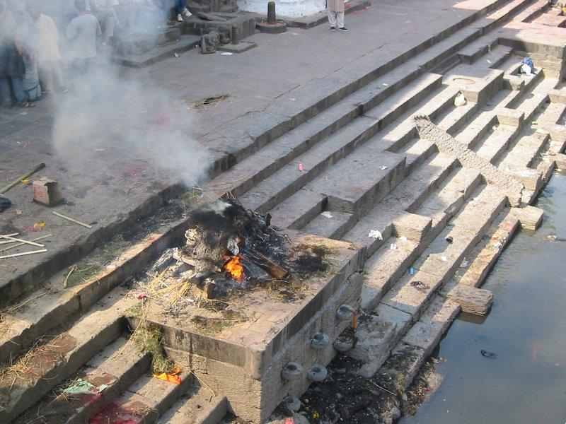 Burning Ghats at Pashupatinath Temple