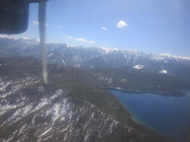 Flying over Rara Lake