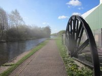 Near Stoke on Trent on the Trent and Mersey canal
