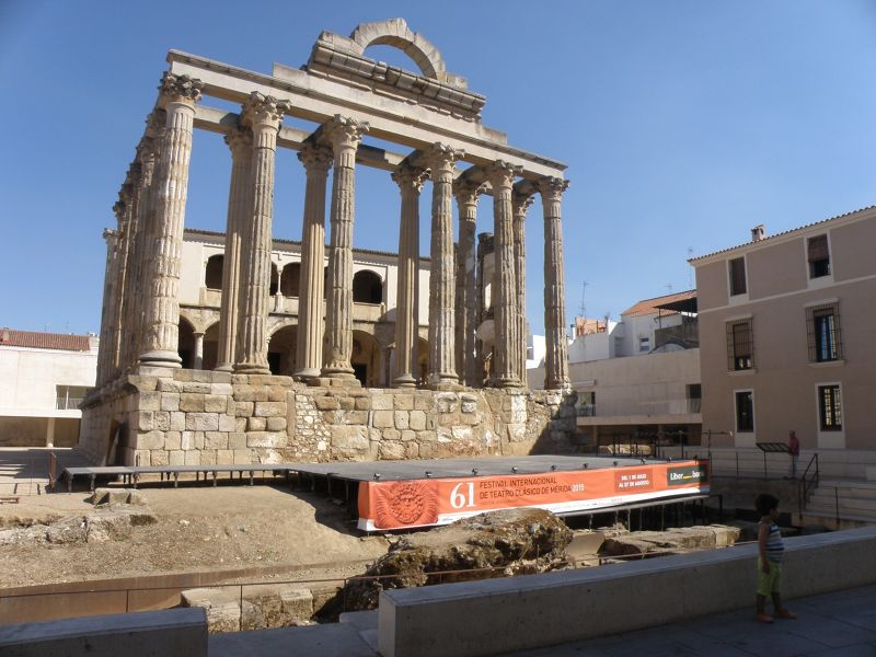 Temple of Diana - Merida - Mérida
