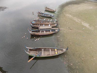 Boats at Amarapura