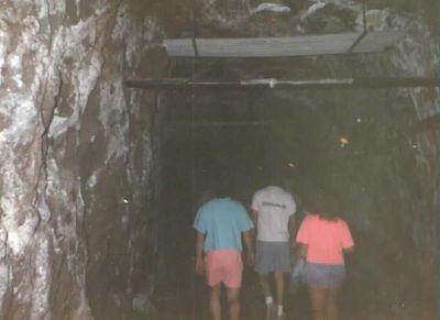 Walking into bowels of the Dam - Las Vegas