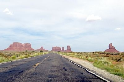 US Route 163, Monument Valley, Utah US 2015 - Monument Valley State Park