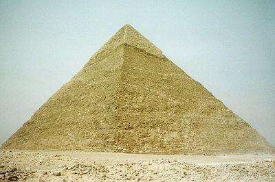 Pyramid of Khafre, Giza, Egypt 2001 - Pyramids of Giza