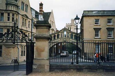 Hertford Bridge, Oxford, UK 1997 - Oxford