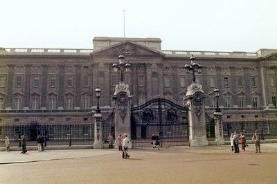 Buckingham Palace, London, UK 1974 - London