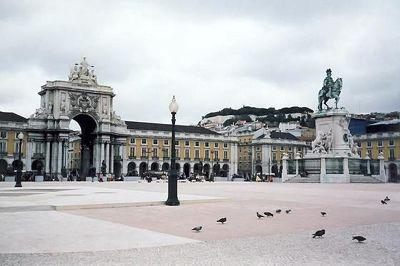 Praca do Comercio, Lisbon, Portugal 1998 - Lisbon