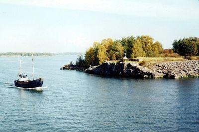 trawler, Suomenlinna, Finland 2000 - Etelä-Suomi