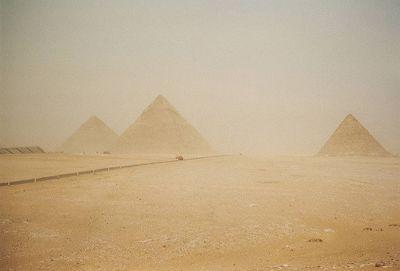 Giza Plateau, Giza, Egypt 2001 - Pyramids of Giza