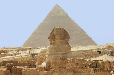 Sphinx, Giza, Egypt 2001 - Pyramids of Giza
