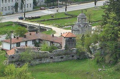 Queen Mary Chapel, Bran, Romania 2007 - Bran