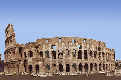 Colosseum, Rome, Italy 1973 - Rome
