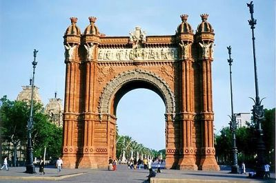 Arc de Triomf, Barcelona, Spain 1998 - Barcelona