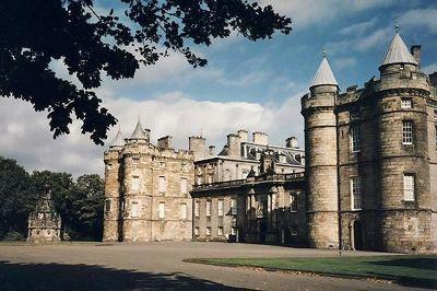 Holyrood Palace, Edinburgh, Scotland, UK 1997 - Edinburgh