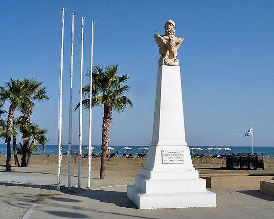 General Kimon Statue, Larnaca, Cyprus 2010 - Larnaca