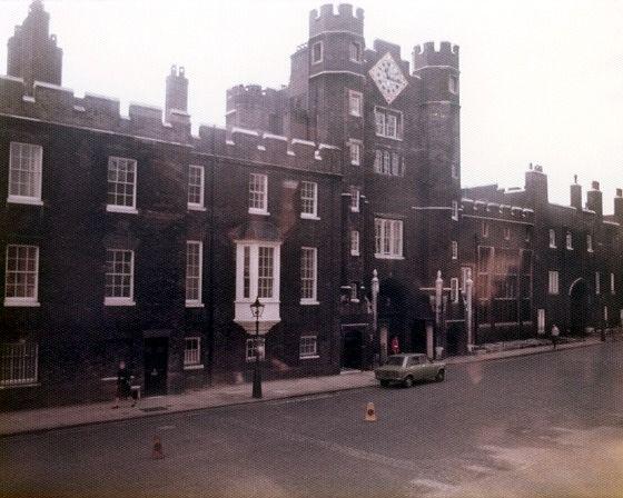 St James's Palace, London, UK 1974 - London