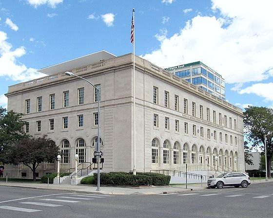Federal Building, Grand Junction, CO, US 2015 - Grand Junction