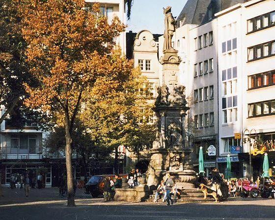 Alter Markt, Köln, Germany 1996 - Cologne