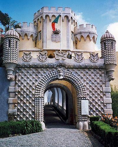 portao, Palacio da Pena, Sintra, PT 1998 - Sintra