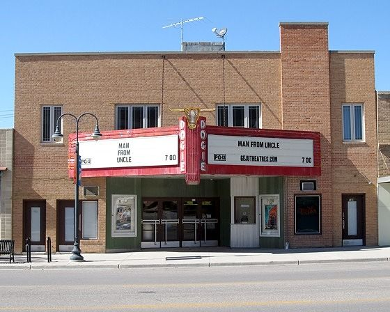 Dogie Theater, Newcastle, Wyoming, US 2015 - Newcastle