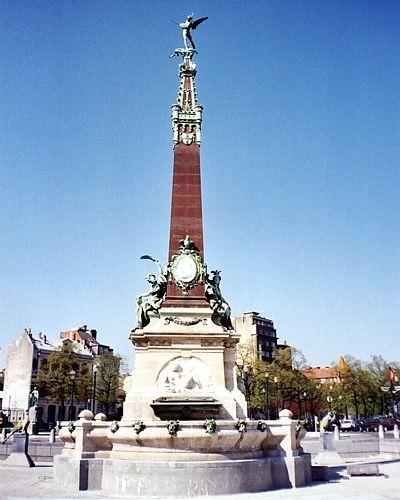 Jules Anspach Fountain, Brussels, Belgium 2003 - Brussels