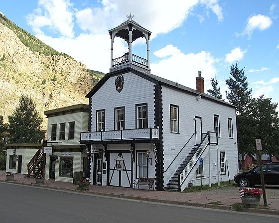 Fire House, Georgetown, Colorado, US 2015 - Georgetown