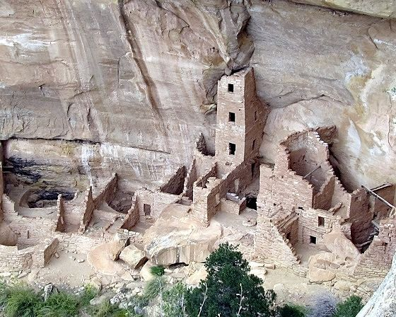 Square Tower House, Mesa Verde, CO, US 2015 - Mesa Verde National Park