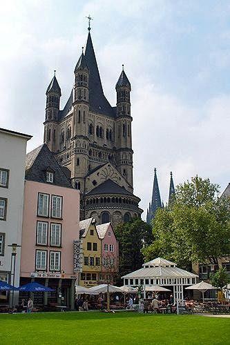 Gross St Martin, Koln, DE 2006 - Cologne