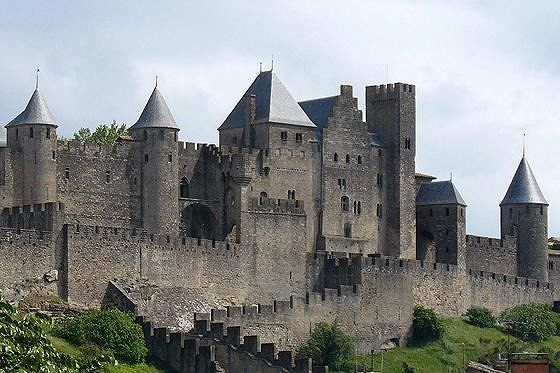 Porte d - Carcassonne