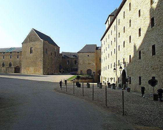 courtyard, Château Fort de Sedan, France 2011 - Sedan