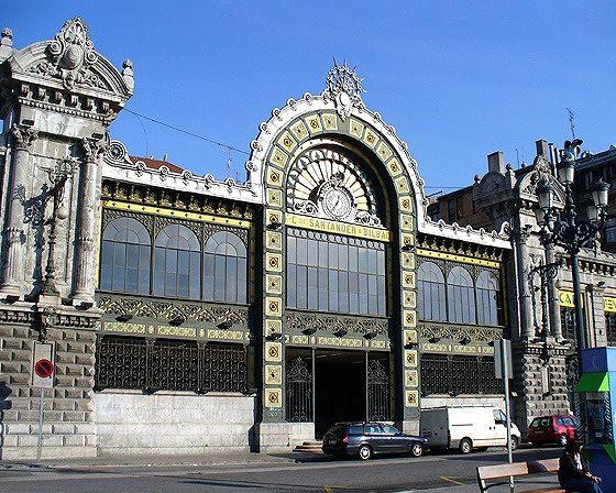 Estación Bilbao Concordia, Bilbao, Spain 2006 - Bilbao