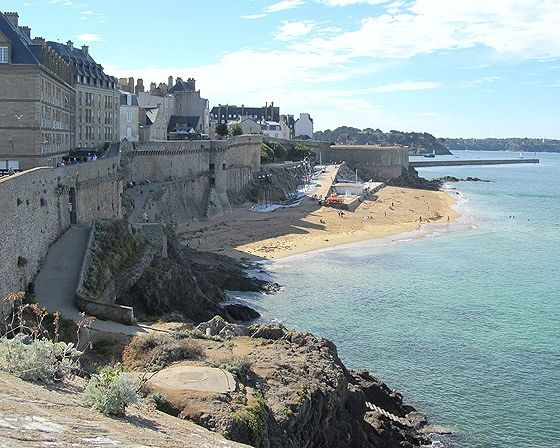 Remparts, St Malo, France 2016 - Saint-Malo