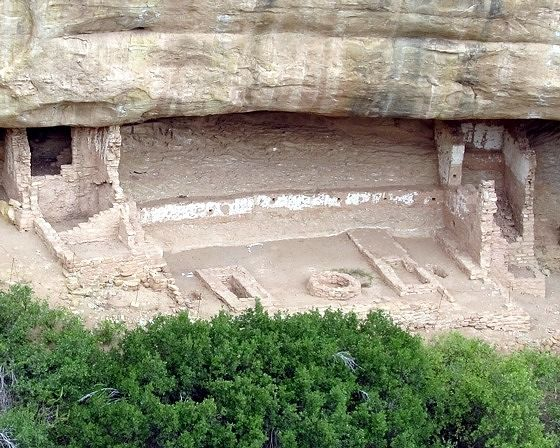 Fire Temple, Mesa Verde, CO, US 2015 - Mesa Verde National Park