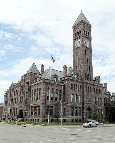 Old Courthouse, Sioux Falls, South Dakota, US 2015 - Sioux Falls