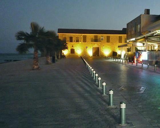 Fort at night, Larnaca, Cyprus 2010 - Larnaca
