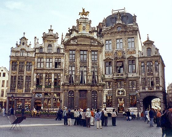 Grand Place 8-12, Brussels, Belgium 2003 - Brussels