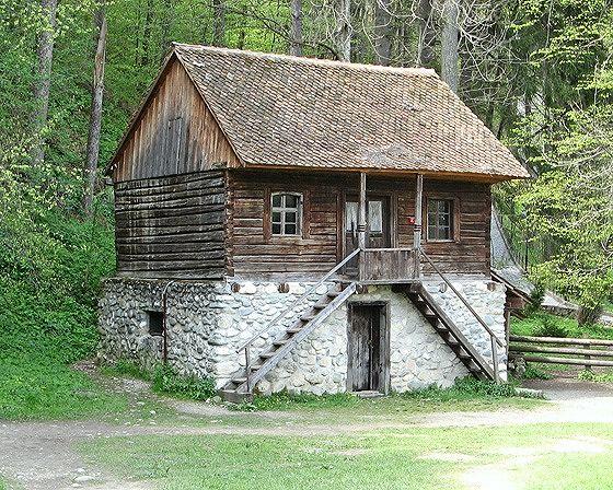 Cottage, Bran, Romania 2007 - Bran