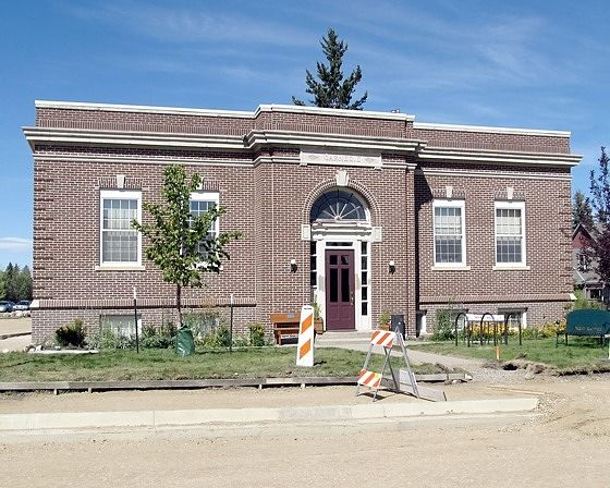 Library, Red Lodge, Montana, US 2015 - Red Lodge