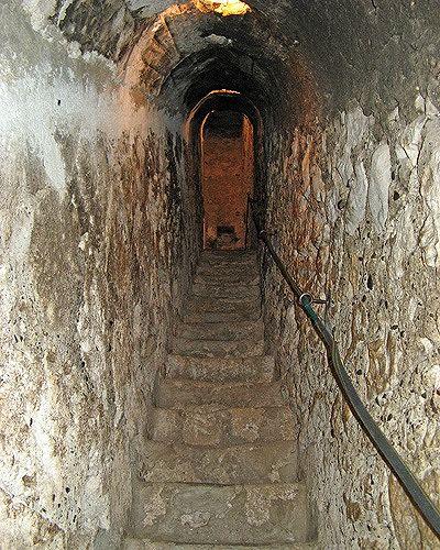 Hidden Staircase, Bran Castle, Bran, Romania 2007 - Bran