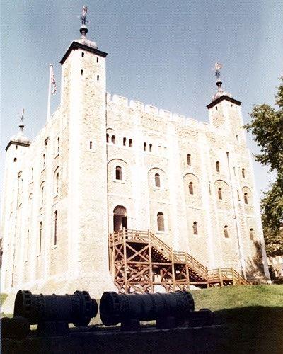 White Tower, London, UK 1974 - London
