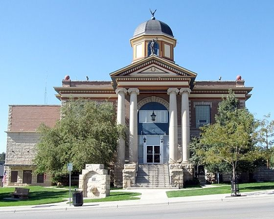 Courthouse, Newcastle, Wyoming, US 2015 - Newcastle