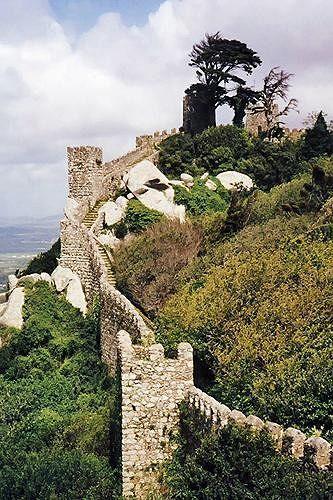 Castelo dos Mouros, Sintra, Portugal 1998 - Sintra