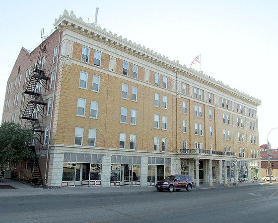 Charles Hotel, Pierre, South Dakota, US 2015 - Pierre