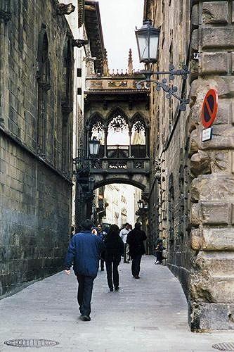 Carrer del Bisbe Irurita, Barcelona, ES 1998 - Barcelona